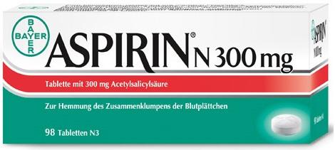 300 mg aspirin örneği