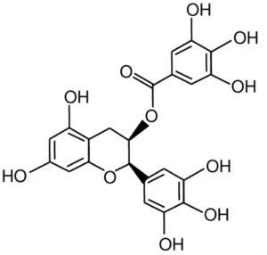 Yeşi Çayda yer alan madde= Epigallocatechin-3 Gallate