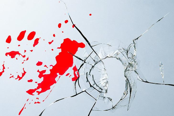 cam kesiği ve yaralanma