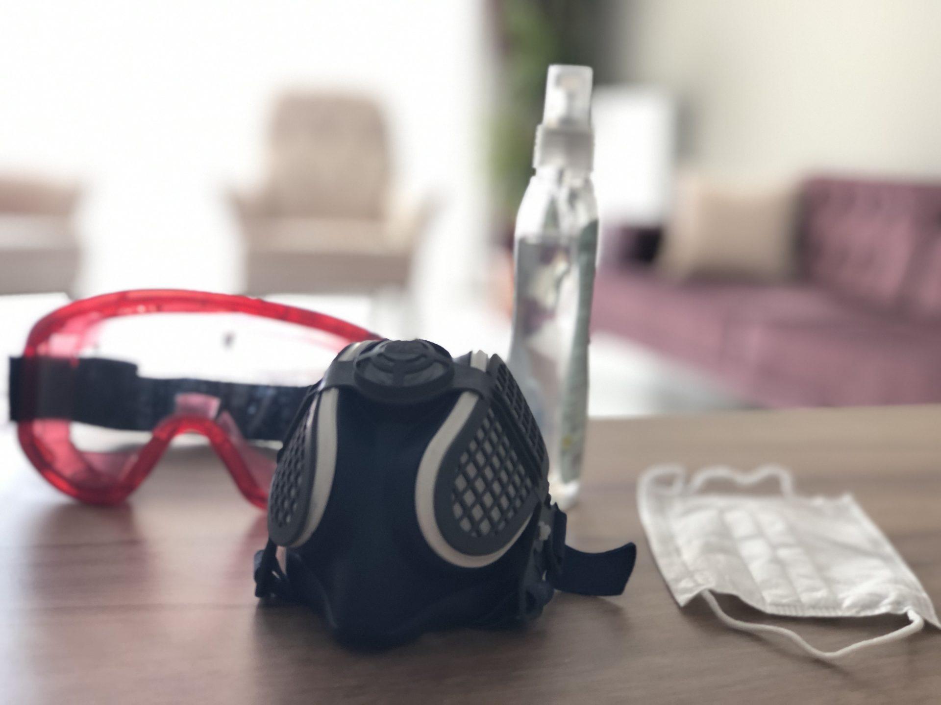n99 maske, koruyucu ekipmanlar